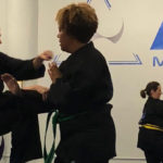 adults from Hastings, Dobbs Ferry, Ardsley, and Irvington in karate classes