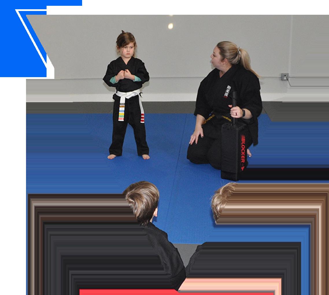 preschool karate class at Edge Martial Arts