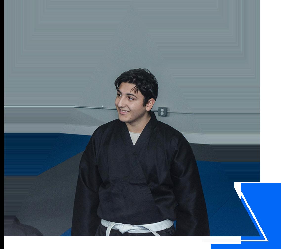 teen karate class at Edge Martial Arts